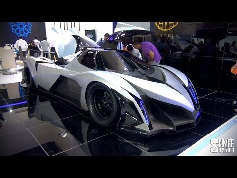 5,000hp Devel Sixteen - Crazy V16 Hypercar with 560km/h Top