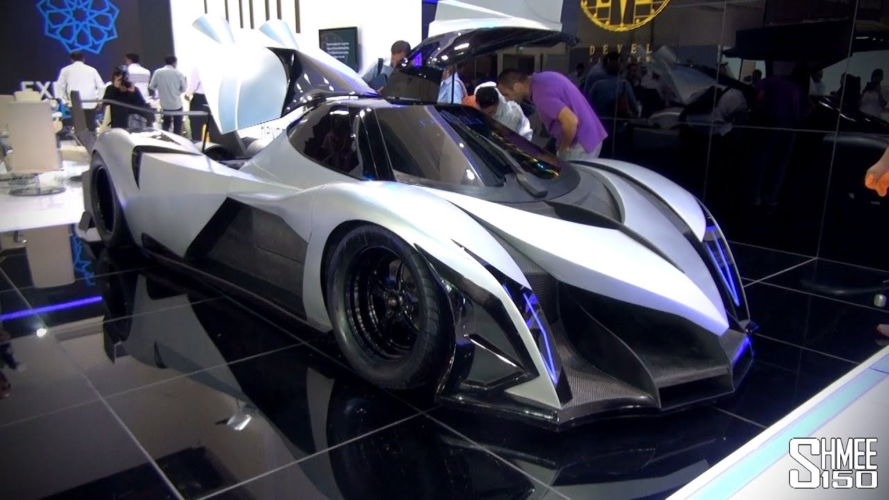 Devil 16 Car >> 5,000hp Devel Sixteen - Crazy V16 Hypercar with 560km/h Top Speed - YouTube