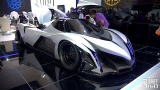 5,000hp Devel Sixteen - Crazy V16 Hypercar with 560km/h Top Speed
