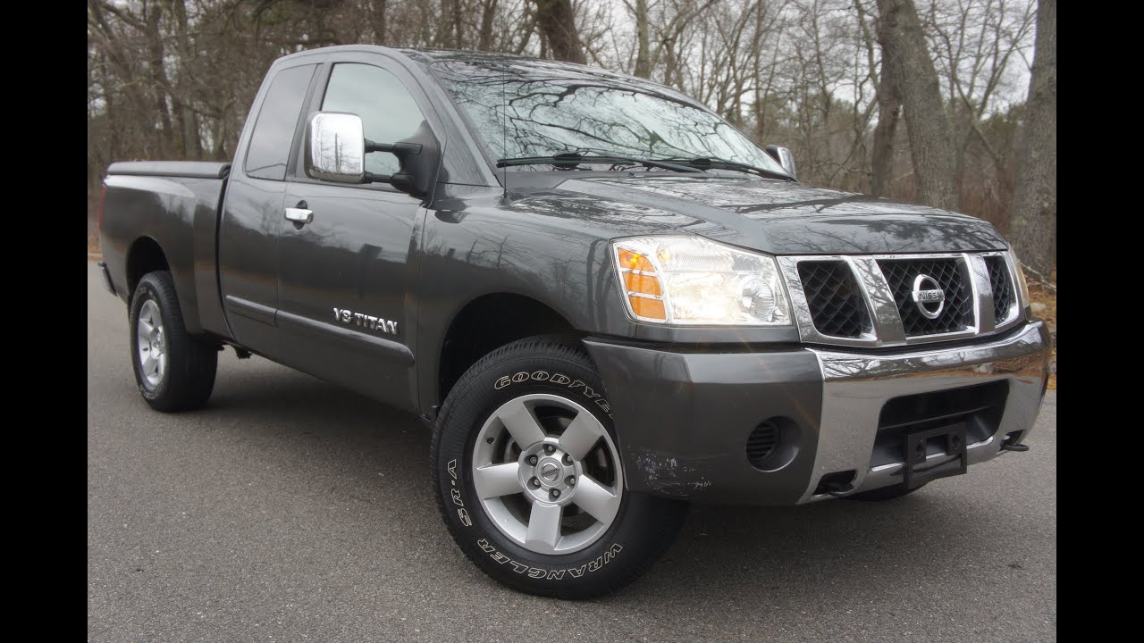 2005 Nissan Titan SE King Cab For Sale - YouTube