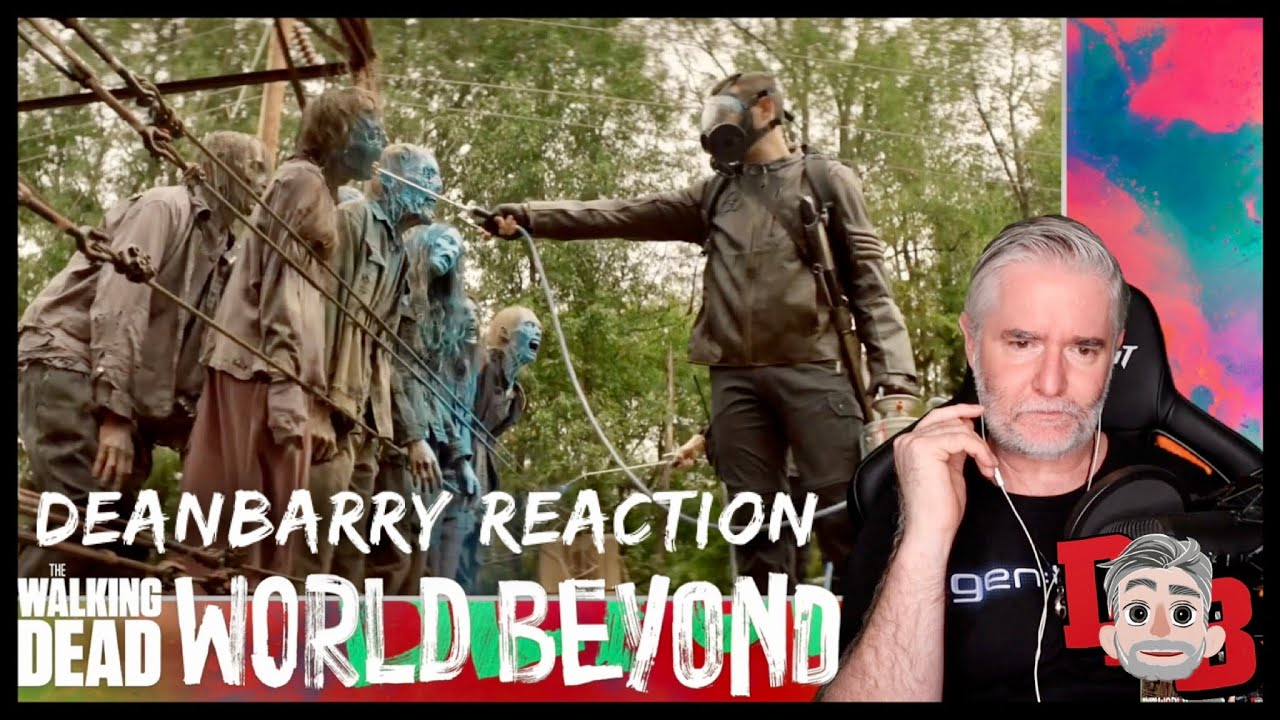 The Walking Dead - World Beyond - Exclusive Official Trailer REACTION