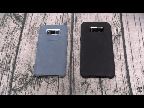 Samsung Galaxy S8 And S8 Plus ALCANTARA COVER