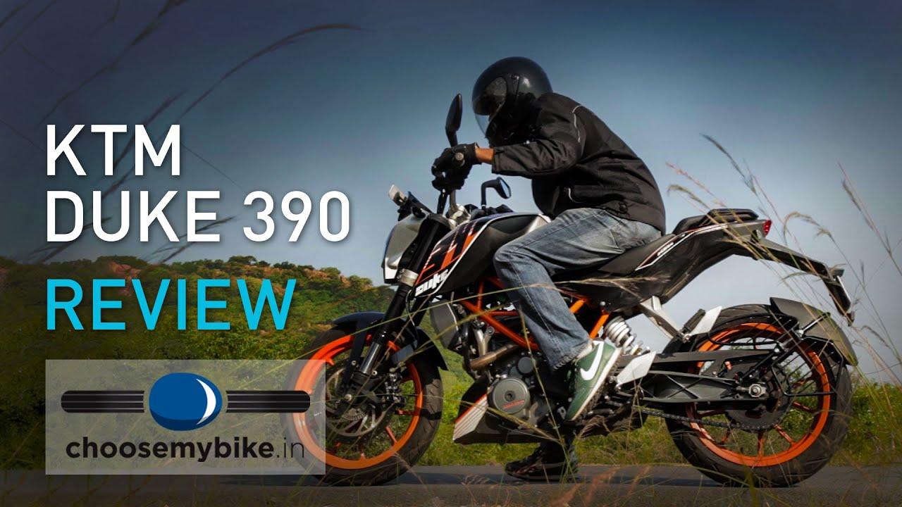 2015 ktm duke 390 : choosemybike.in review - youtube