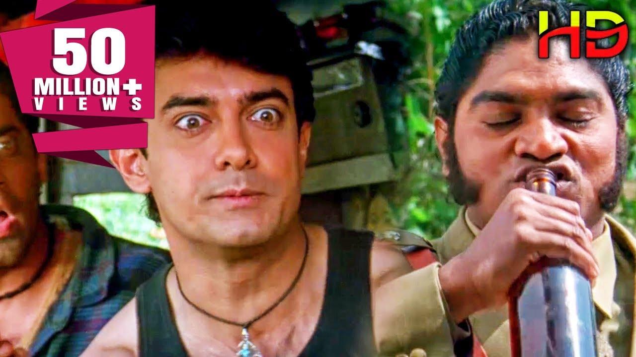 जॉनी लीवर ने पिया आमिर खान का टॉइलेट | बॉलीवुड का ज़बरदस्त कॉमेडी सीन