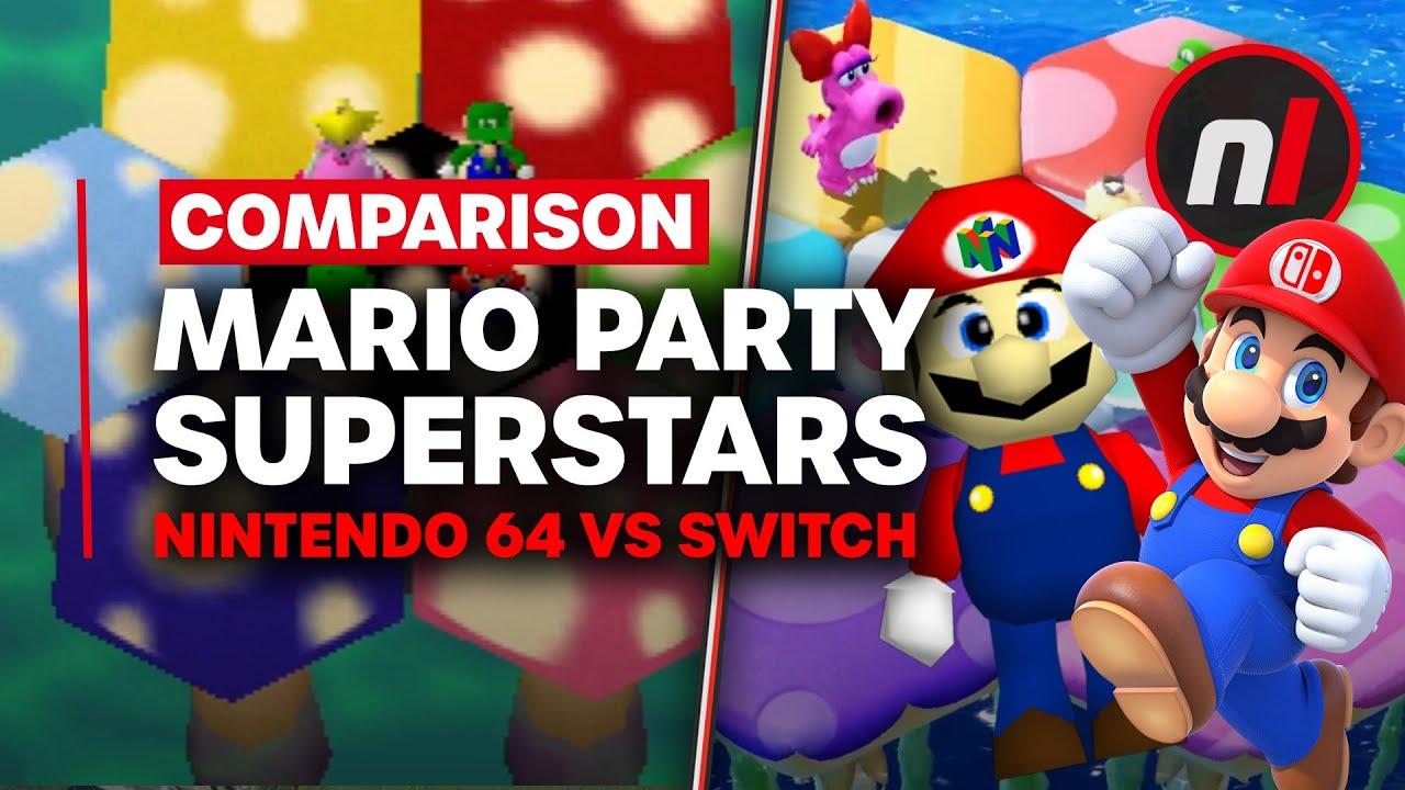 The Evolution of Mario Party Superstars - Nintendo 64 vs Switch (Comparison) - Nintendo Life thumbnail