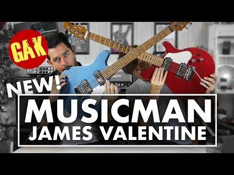 NEW! Music Man James Valentines!