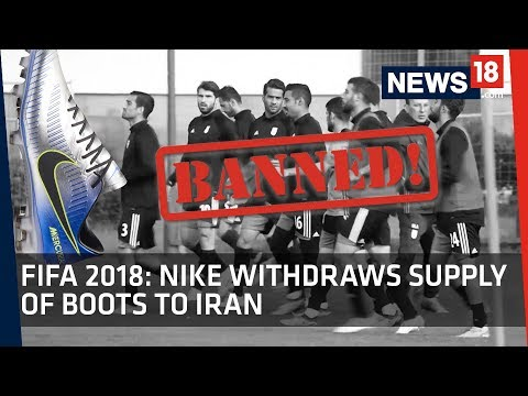 FIFA WC 2018 | Nike Withdraws Supply of Boots to Iran Football Team