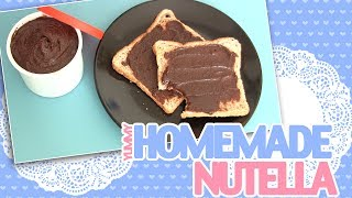 (healthy...ish) Homemade Nutella!
