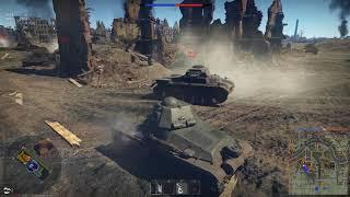War Thunder French Reserve tanks play through part 2