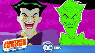 Justice League Action | The Best of The Joker! | DC Kids