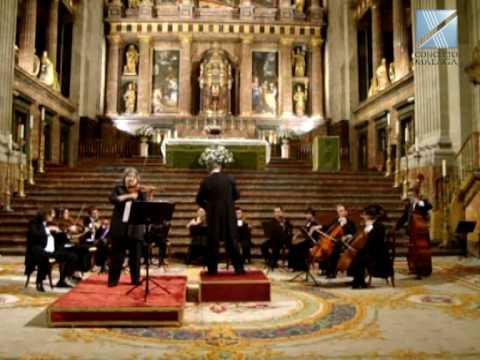 """CONCERTO MÁLAGA LIVE Antonio Vivaldi - Concierto para violín y orquesta RV 293 """"Otoño"""" MARIANA SIRBU"""