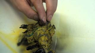 Get it Painted! Clanking Behemoth from Kromlech - How to paint Deff Dread!