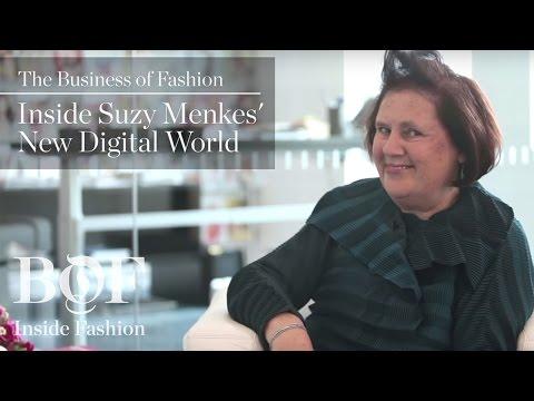 Inside Suzy Menkes' New Digital World