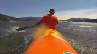 Big downwind Gorge Oregon / Washington Hood River Huki Surfskis