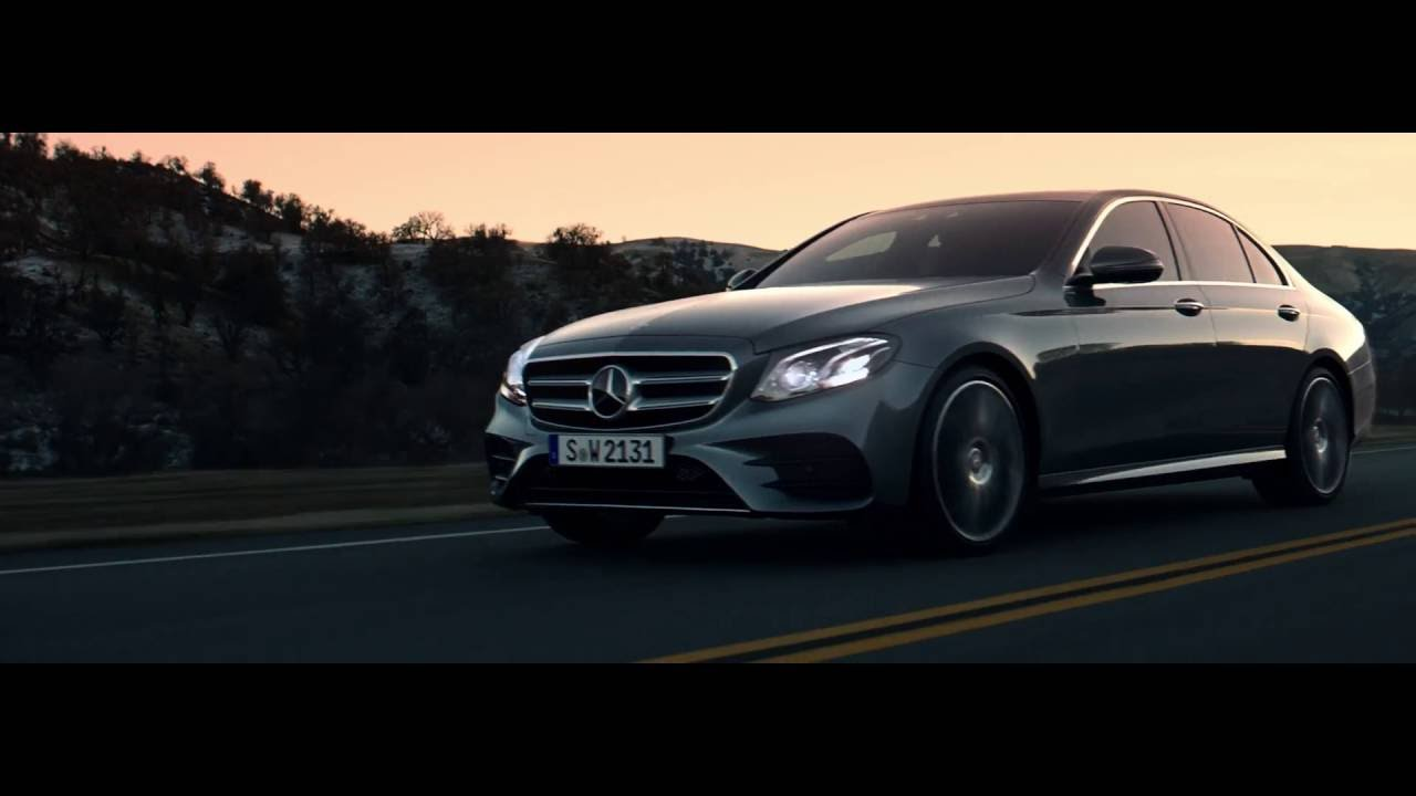 the new mercedes benz e class commercial intuition. Black Bedroom Furniture Sets. Home Design Ideas