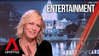 Robin Wright talks House of Cards final episode and a Princess Bride sequel | CNA Lifestyle