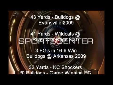 Carter Rethwisch AllAmerican Kicker Highlights 2004 2010 Final