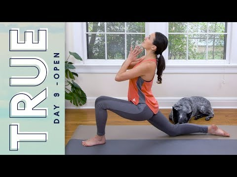TRUE - Day 9 - OPEN   |   Yoga With Adriene