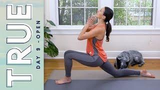 TRUE - Day 9 - OPEN   |   Yoga With Adriene