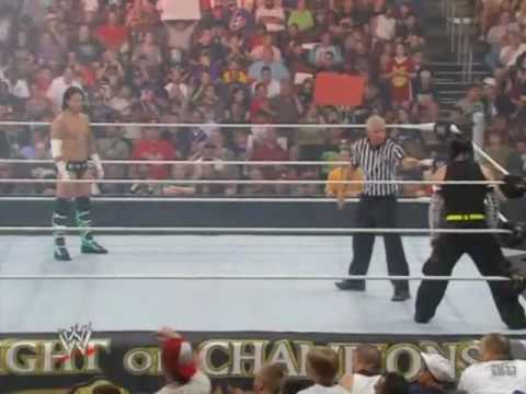 Jeff Hardy vs CM Punk - WWE  Night of Champions (Part 1/3)
