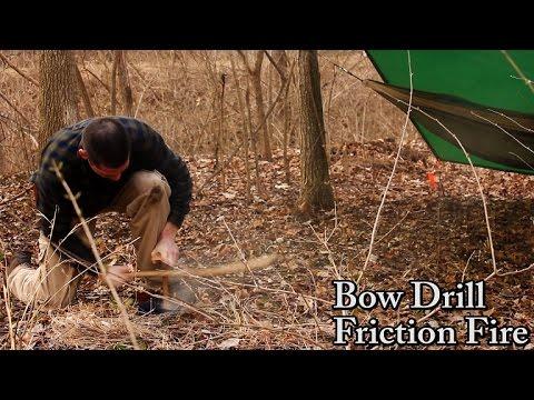 Bushcraft Skill – Bow Drill Fire