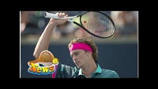 Alexander Zverev launches attack on Stefanos Tsitsipas after loss