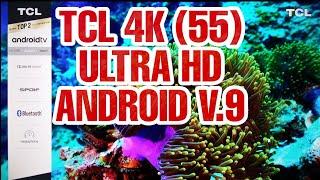 TCL 55(P8E)AI 4K UHD ANDROID  LED TV UNBOXING ||Vintage Reel
