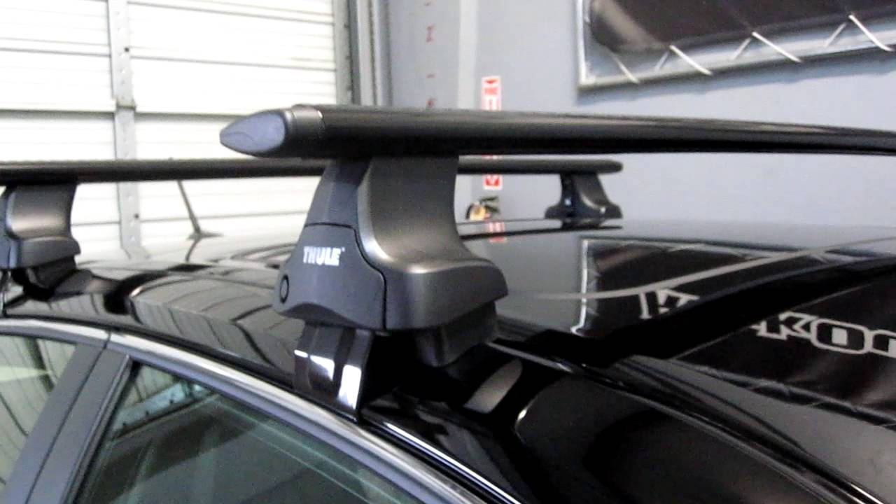 Lexus CT 200H Hybrid with Thule 480R Traverse AeroBlade ...