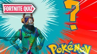 POKÉMON -NOUVEAU QUIZMD FORTNITE MINI-GAMES