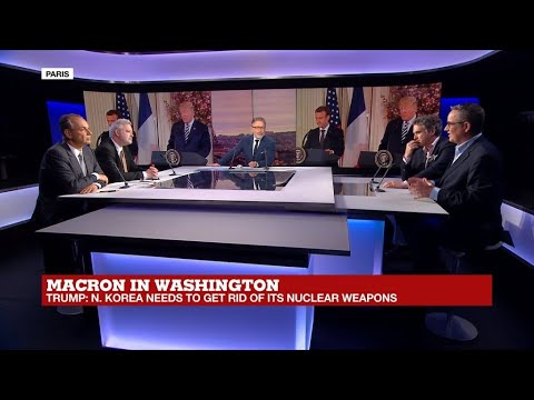 Macron in Washington: Can he change Trump's Foreign Policy?
