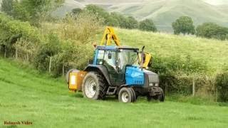 Hedge-Cutting in Cumbria - Classic Valtra Action