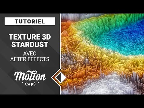 [TUTO] Texture 3D Stardust avec AfterEffects (French School