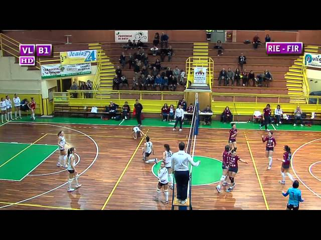 Fortitudo Rieti vs S. Michele Firenze - 1° Set