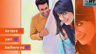 Sakhiyan || romantic status || female version || Girls Attitude || female version status vedio