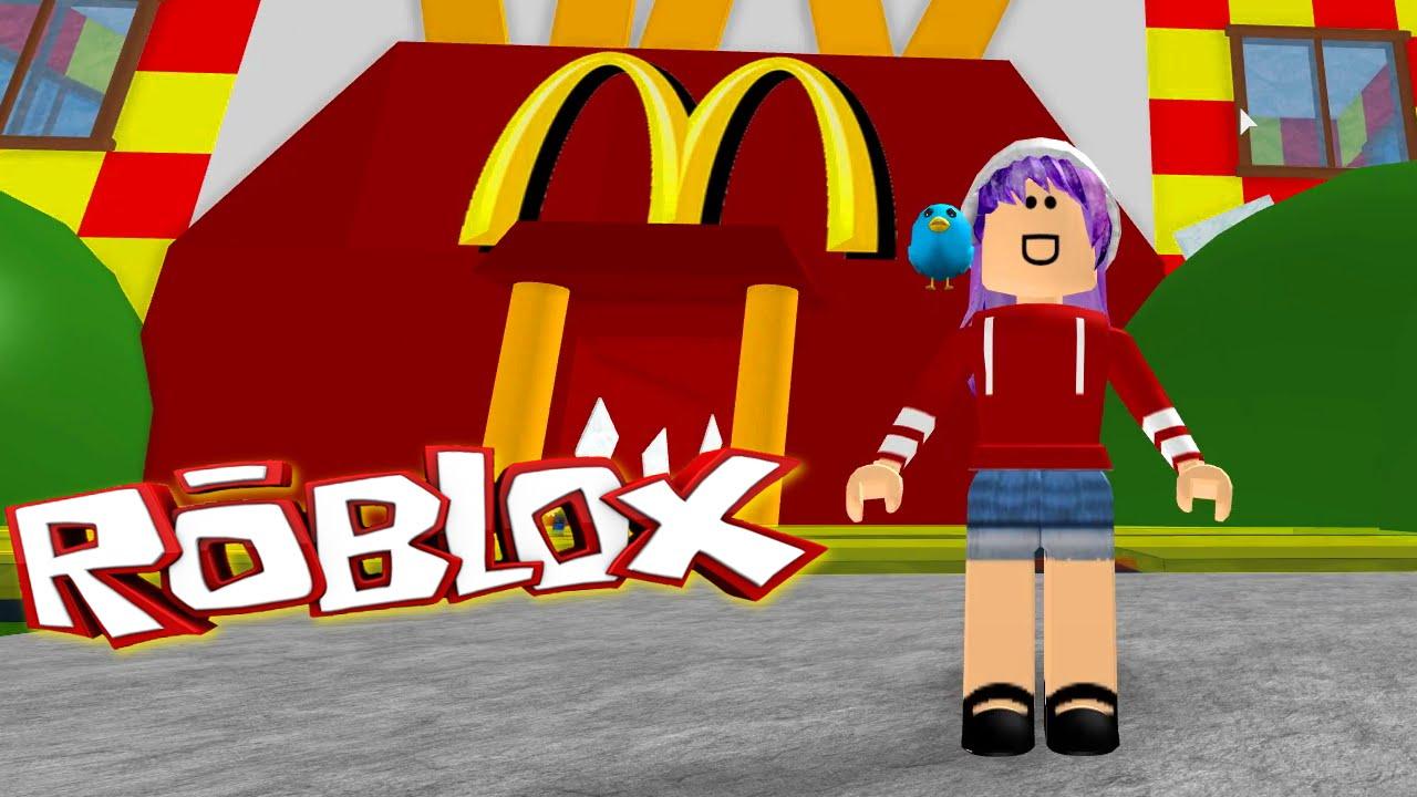 Roblox Escape Mcdonalds Obby Radiojh Games Youtube