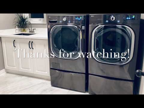 LG Washer & Dryer Review - Front Load TurboWash Combo