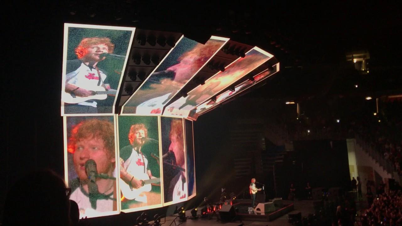 ed sheeran at coliseo de puerto rico, divide tour ( june 4, 2017