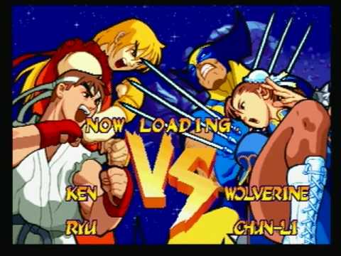street fighter marvel arcade