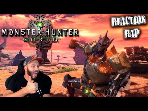 MONSTER HUNTER: WORLD RAP - Keyblade | CENSPLAY REACTION