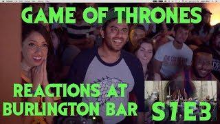 GAME OF THRONES Reactions at Burlington Bar /// S7E03 PART 2 \\\
