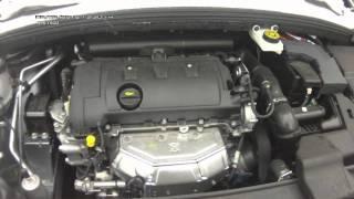 Шум двигателя EP6 Ситроена C4 при холодном пуске.