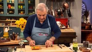 Jacques Pépin Techniques: Making Bunny Rabbits Out of Olives and Grapes