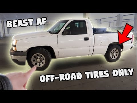 2WD TRUCK with MUD TIRES (DO NOT buy street tires)