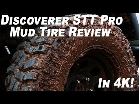 Cooper Discoverer STT Pro - Off Road Mud Tire Review - In 4K