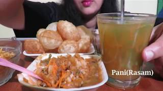 golgappa eating competition