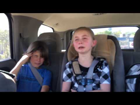little-girl-upset-because-her-big-brother-won't-give-her-a-hug-and-a-kiss-at-school.-part-1