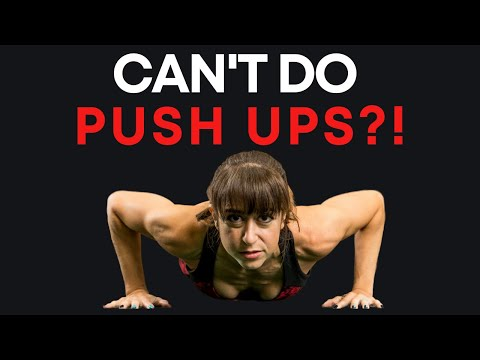 Can't Do Push Ups? (JUST DO THIS!)