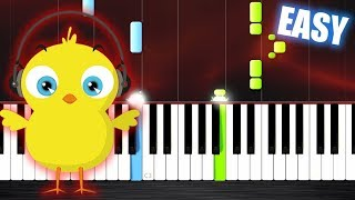 Pulcino Pio El Pollito Pio - EASY Piano Tutorial by PlutaX.mp3