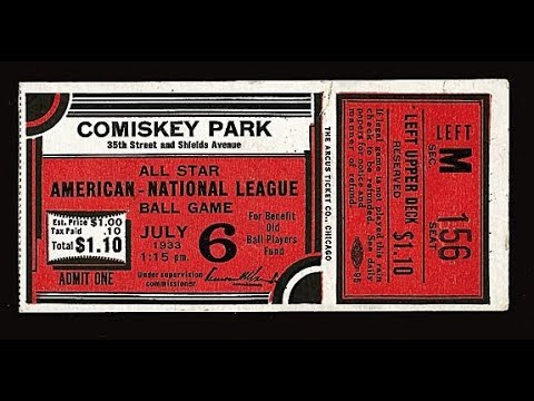 Action PC Baseball - 1933 All Star Game