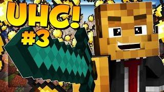 HUGE 6 PERSON BATTLE - Minecraft Ultra Hardcore (UHC) #3 Season 8 - w/ Landon